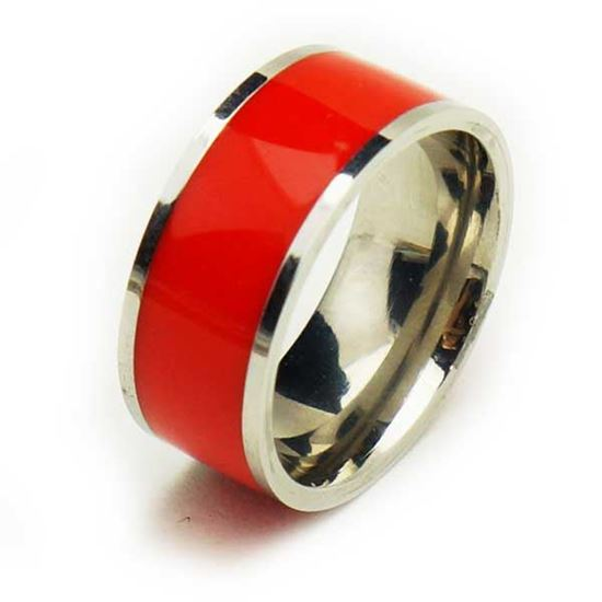 Picture of Red Band Women Stainless Steel Enamel