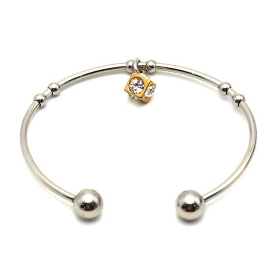 Picture of Charm Bangle Stainless Steel Polished