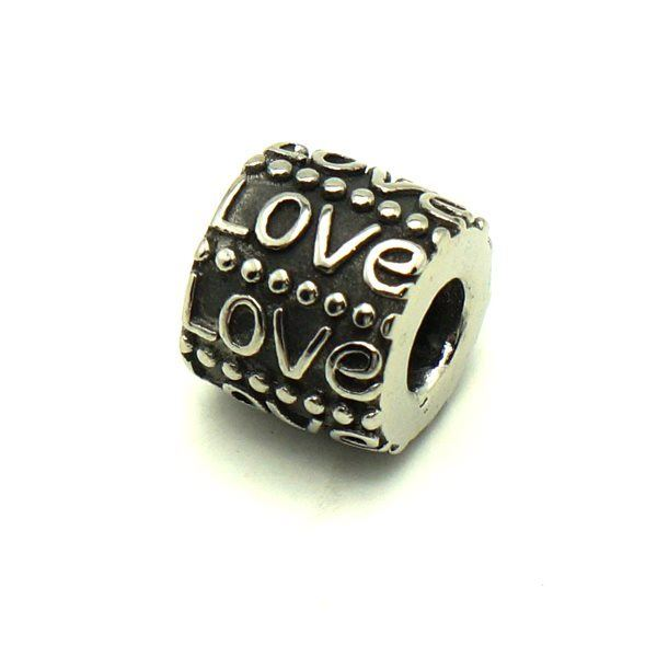 Picture of Love Pendant Stainless Steel High Polished