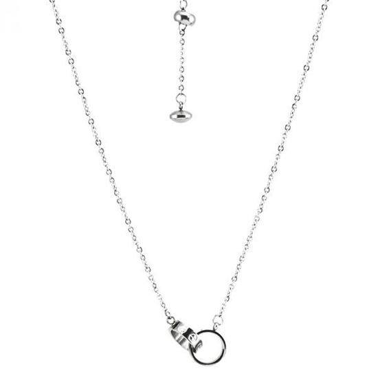 Picture of ANFLO S2 Interlock Necklace Stainless Steel