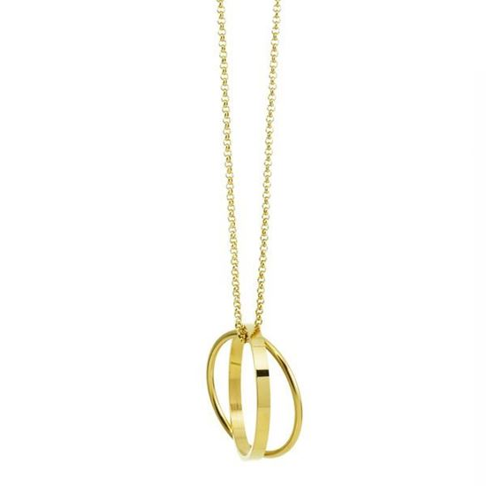 Picture of MIS Gold Infinity Long Necklace Stainless Steel