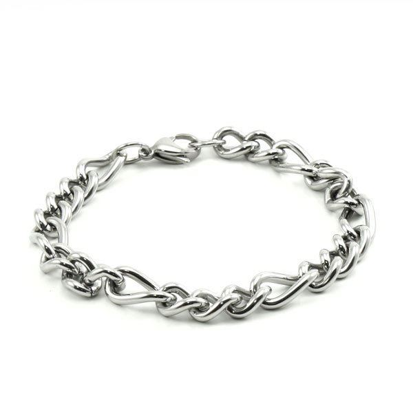 Picture of MIS Unisex Figaro Stainless Steel Bracelet