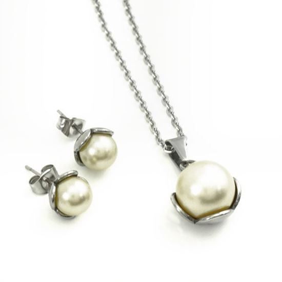 Picture of Pearl Set Stainless Steel High Polished