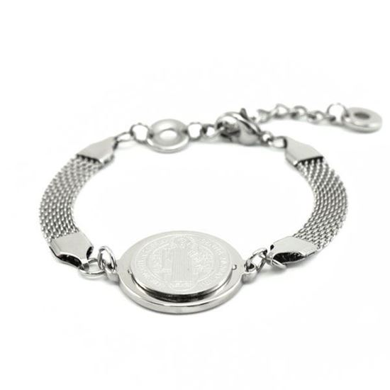 Picture of Religious Bracelet Stainless Steel High Polished