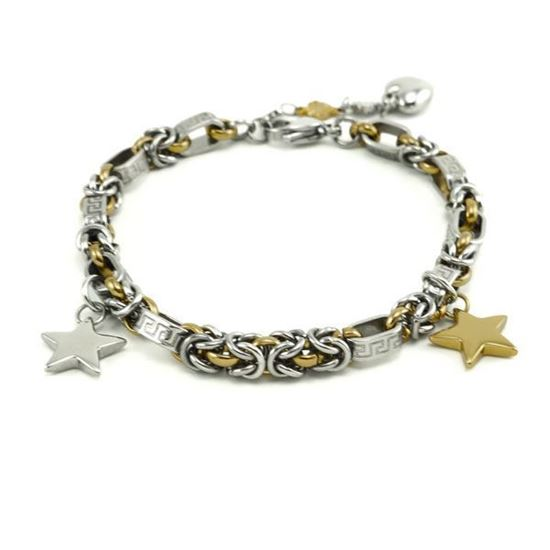 Picture of Star Charm Bracelet Stainless Steel