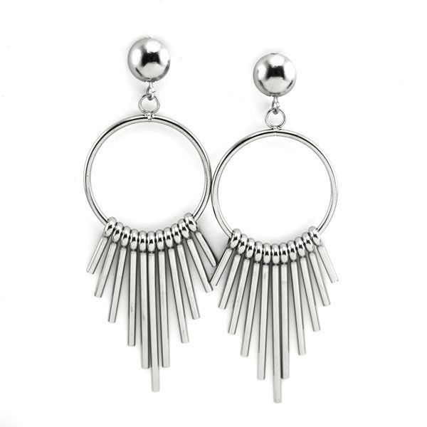 Picture of Dangling Earrings Stainless Steel Polished