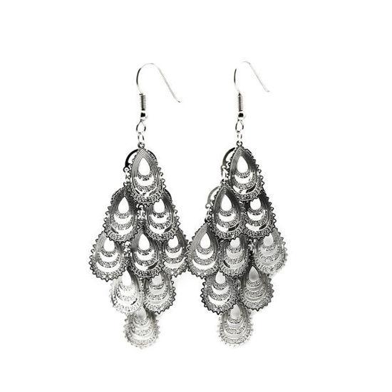 Picture of Women Dangling Earrings Stainless Steel