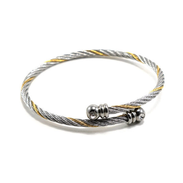 Picture of ANFLO Cable Wire Bangle Stainless Steel