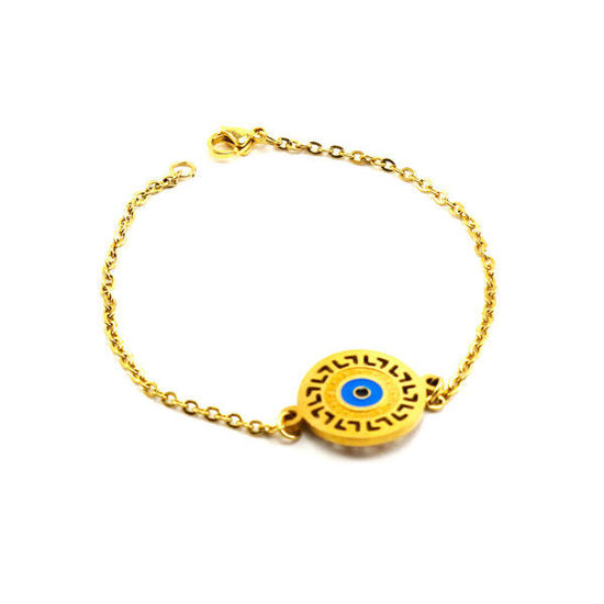 Picture of Evil Eye Bracelet Stainless Steel