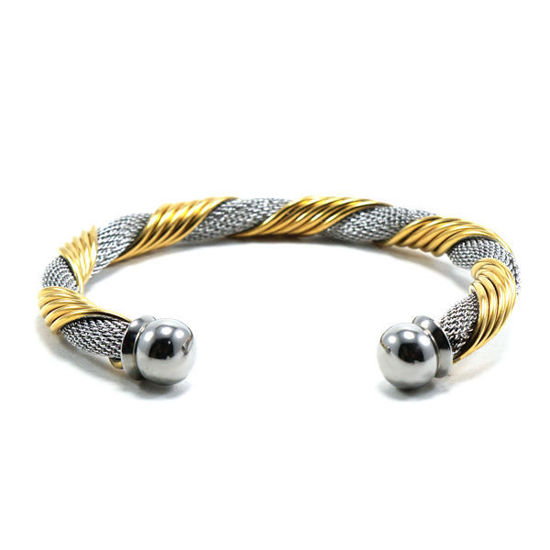 Picture of MIS Cable Twisted Bangle Stainless Steel
