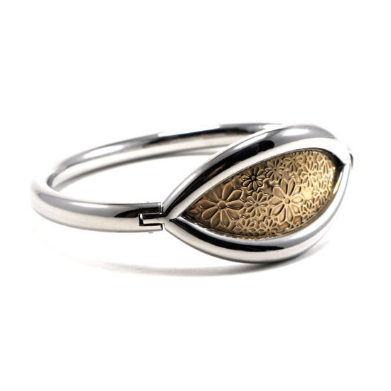 Picture of MIS Flower Bracelet Stainless Steel Polished