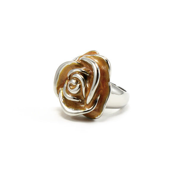 Picture of Flower Ring Stainless Steel Enamel