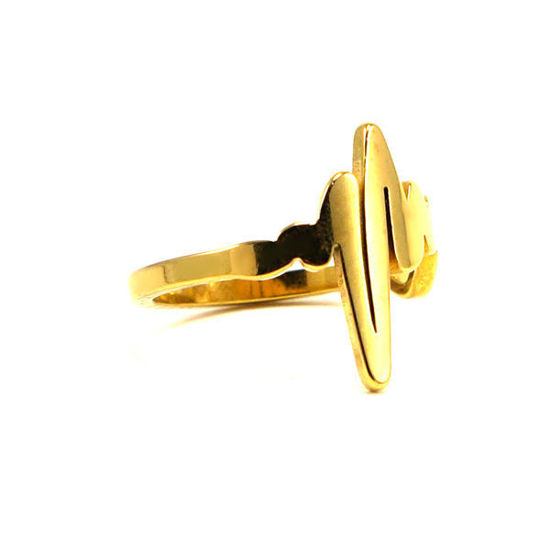 Picture of Heart Wave Ring Stainless Steel