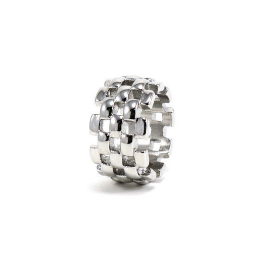 Picture of Women Silver Stainless Steel Ring