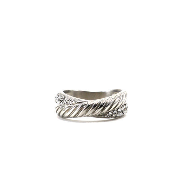 Picture of CZ Stainless Steel Ring