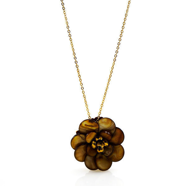 Picture of ANFLO Flower Stainless Steel Necklace