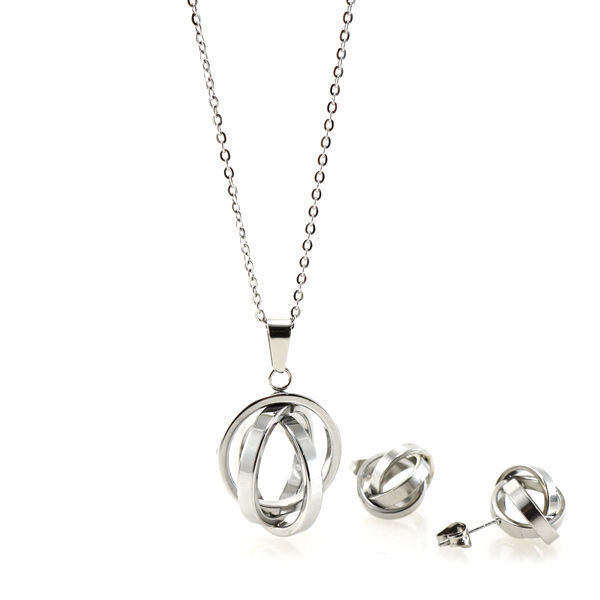 Picture of ANFLO Necklace Set Stainless Steel