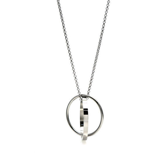 Picture of Infinity Long Necklace Stainless Steel