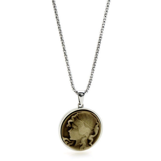 Picture of Cameo Victorian Necklace Stainless Steel