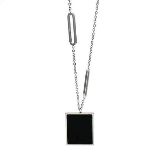 Picture of Geometric Necklace Stainless Steel High Polished