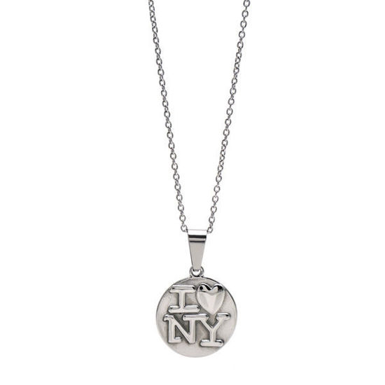Picture of Coin I❤NY  Necklace Stainless Steel