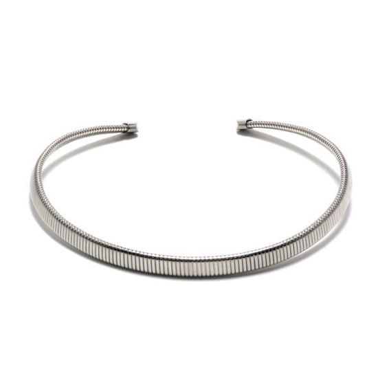 Picture of Women Choker Necklace Stainless Steel High Polished