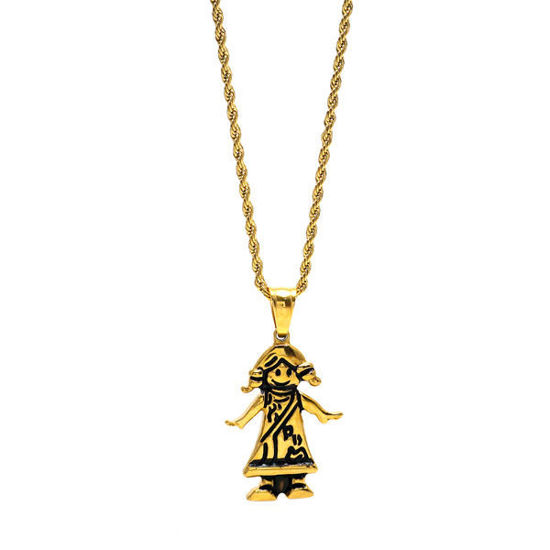 Picture of Necklace Stainless Steel Gold Plating