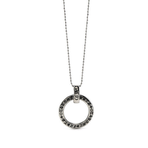 Picture of Circle Spiritual Pendant Necklace Stainless Steel