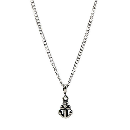 Picture of Pendant Anchor Necklace Stainless Steel