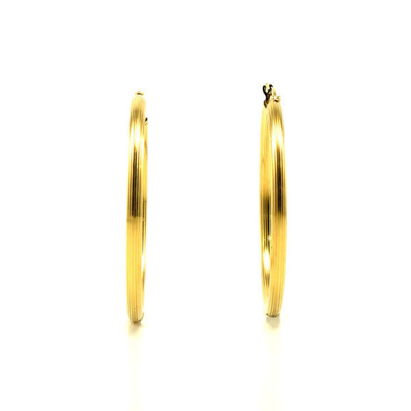 Picture of Hoop Earrings  Stainless Steel Gold Plating