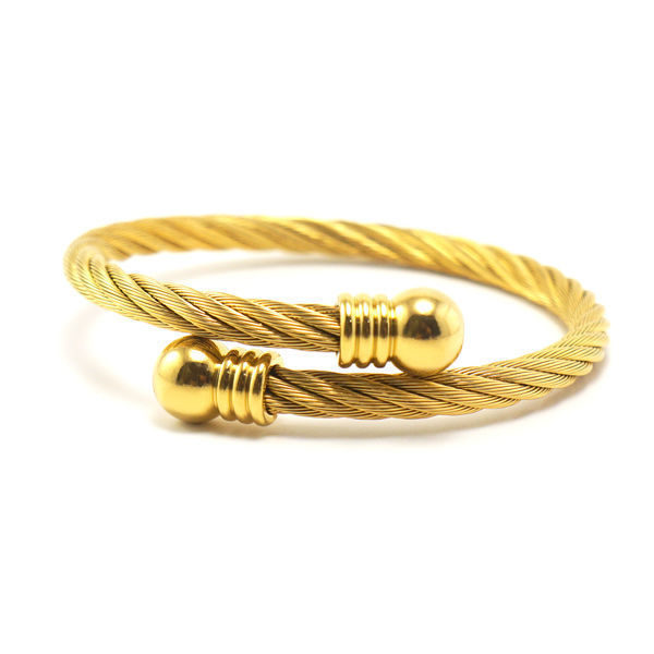 Picture of Cable Bangle Bracelet Stainless Steel