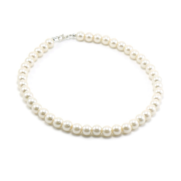 Picture of Classic Pearls Glass Necklace 10mm
